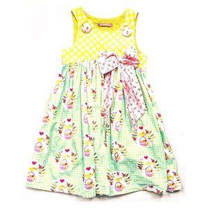 Jelly The Pug Bunnies & Bows Puffy Dress
